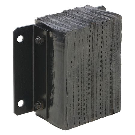 Vestil Laminated Dock Bumper- 6 Projection Type 1212-6