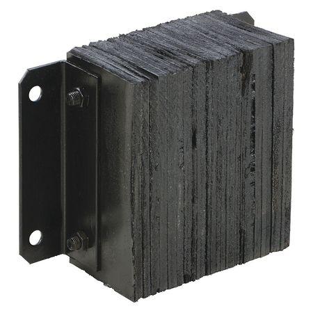 Vestil Laminated Dock Bumper- 6 Projection Type 1214-6