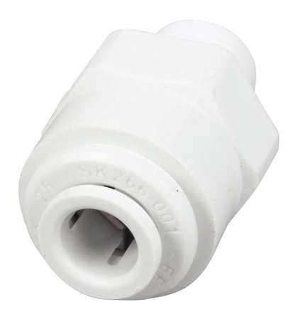 Connector,Male,1/4od x 1/8np