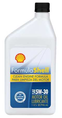 Formula shell motor oil 1 qt 5w 30 conventional for Formula shell motor oil