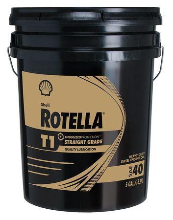 Rotella Diesel Motor Oil Rotella T1 5 Gal 50w 550019893