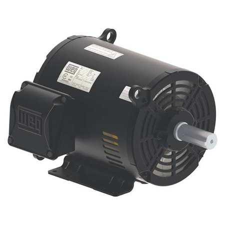 GP Motor 3 Ph 20 HP 1775 254/6T 25.0A by USA Weg General Purpose 3 Phase AC Motors
