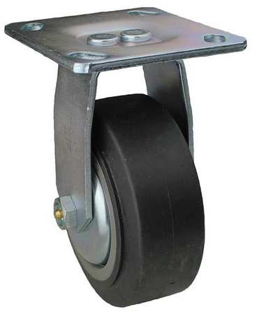 Value Brand Rigid Plate Caster TPR 4 in. 300 lb. Type 08IS04201R001