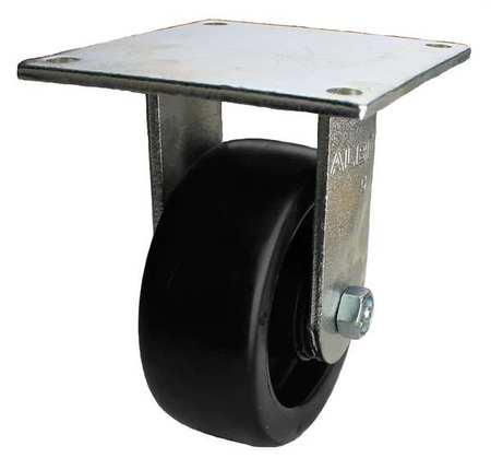 Value Brand Rigid Plate Caster Polyolefin 8in 1000lb