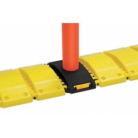 Value Brand Portable Speed Bump 120In Yellow Plastic Type 3192-00003