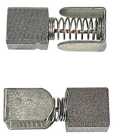 Motor Brush Set 12/24VDC PK2 by USA Dayton Motor Parts