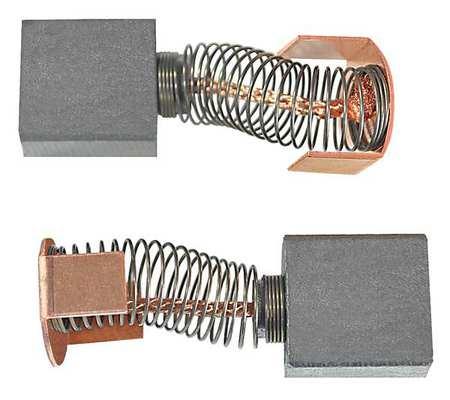 Motor Brush Set 90VDC 9/16 In. L PK2 by USA Dayton Motor Parts