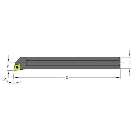Ultra-Dex Boring Bar A06K SCLPL2