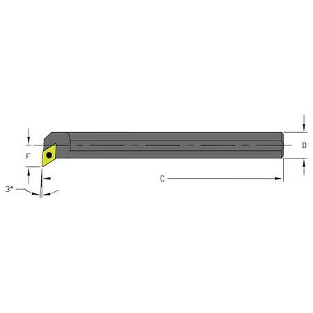 Ultra-Dex Boring Bar A16R SDUPL3