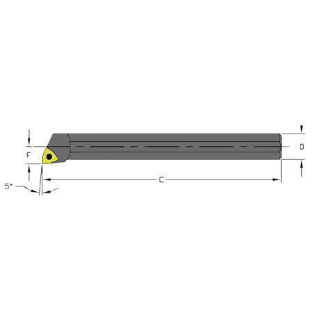 Ultra-Dex Boring Bar A10Q SWLCR2