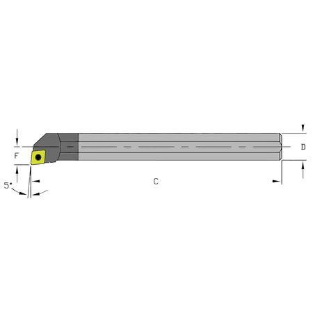 Ultra-Dex Boring Bar C06M SCLPL2 250