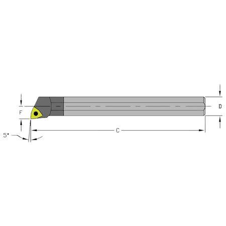 Ultra-Dex Boring Bar C08R SWLCR2