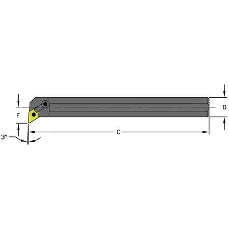Ultra-Dex Boring Bar S20T MDUNL4