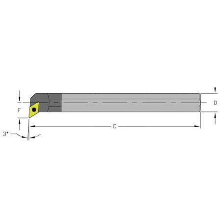 Ultra-Dex Boring Bar E10Q SDUCL2