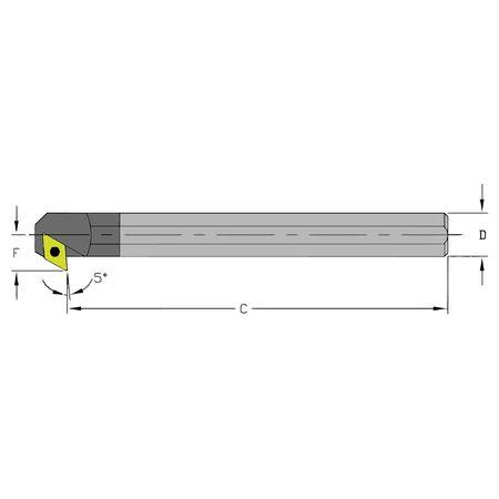 Ultra-Dex Boring Bar C08J SDXCL2