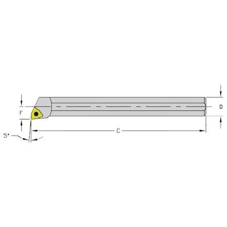 Ultra-Dex Boring Bar HM08Q SWLCL2