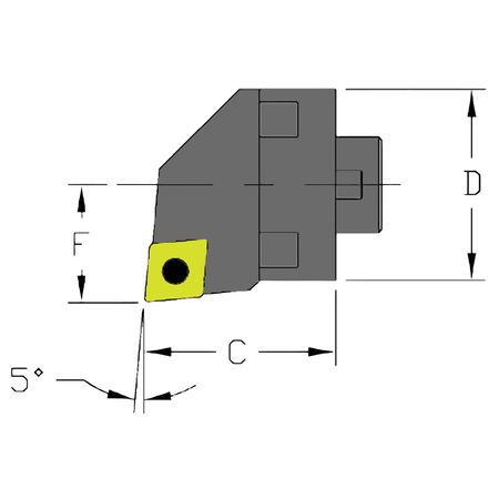 Ultra-Dex Boring Bar MH28 SCLCR3 CFT
