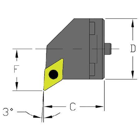 Ultra-Dex Boring Bar SH16 SDUCR3