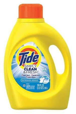 Tide 100 Oz. Breeze Liquid Laundry Detergent, 4 Pack