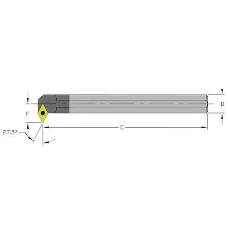 Ultra-Dex Boring Bar E12S SDNCR3