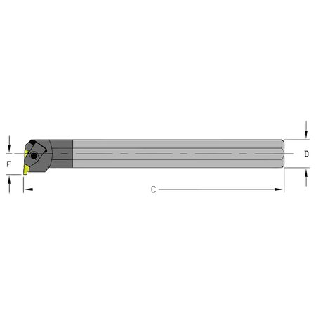 Ultra-Dex Boring Bar E08R NEL2