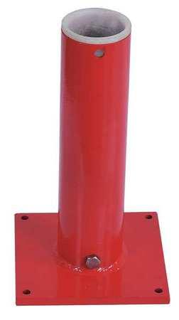 Dayton Mounting Base Pedestal/Socket 500 lb Red