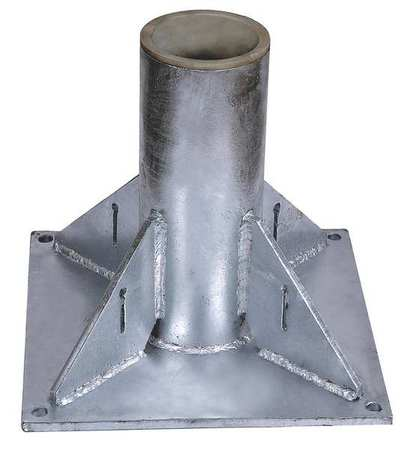 Dayton Mounting Base Pedestal 1000 lb. SS
