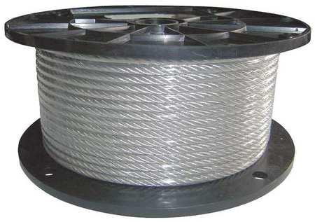 Dayton Cable 1/4 in. dia. 250 ft. 7 x 19 Vinyl