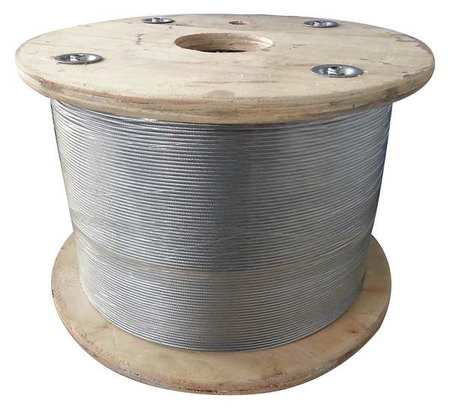 Dayton Cable 5/16 in. 25 ft. 7 x 19 Steel