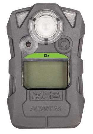 Msa 10154080 3m Gas Detector Gray Cl2 0 To 10 Ppm