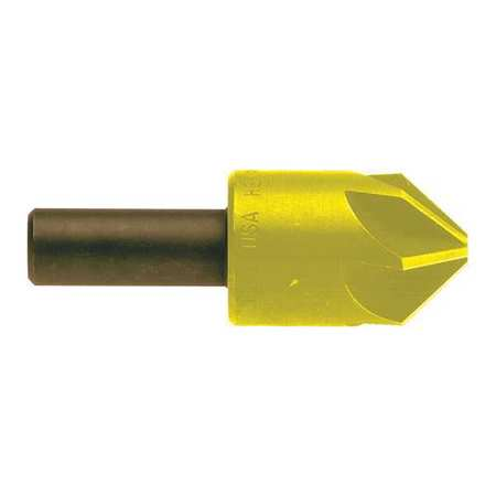 KEO Drill/Countersink 6 FL 110 deg. 1in TiN