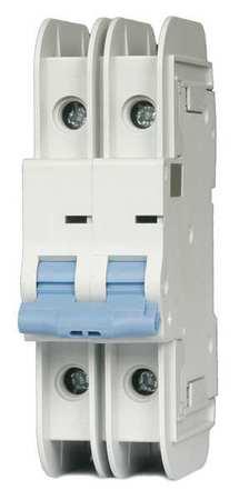 2P Miniature Circuit Breaker 1A 480VAC by USA Dayton Circuit Breakers