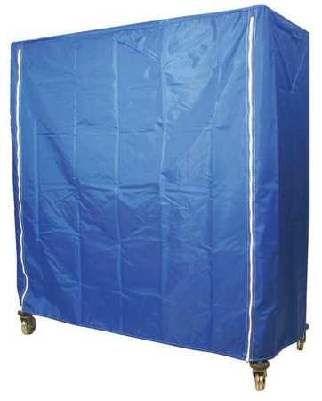 Value Brand Cart Cover 48x18x74 Blue Nylon Zipper