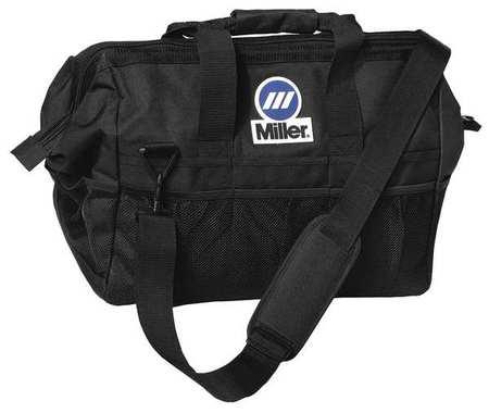 "22"""" Welders Tool Bag, 22 Pockets, Black -  MILLER ELECTRIC, 228028"