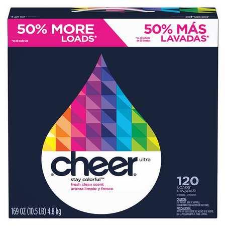 Cheer 169 Oz. Box Fresh Laundry Detergent, 2 Pack