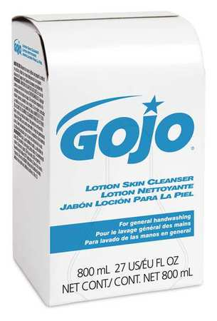 Gojo Lotion Soap,800ml,synthetc Detrgent,pk12