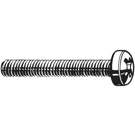 "FABORY U51341.025.0100 1//4-20 x 1/"" Fillister Head Slotted Machine Screw 50 pk."