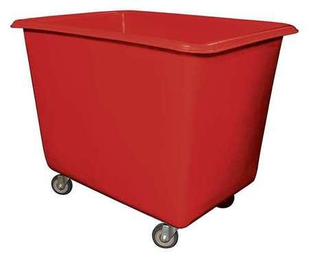 Value Brand Cube Truck 7/8 cu. yd. 800 lb. Cap Red