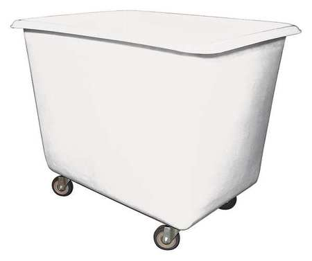 Royal Basket Cube Truck 1 cu. yd. 800 lb. Cap White