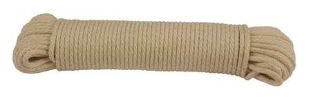 Value Brand Rope Cotton 5/16in Dia 100 ft.