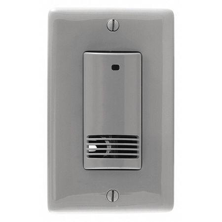Occ/Vac Sensor US 400sq.ft. Gray by USA Hubbell Kellems Infrared Motion Sensors