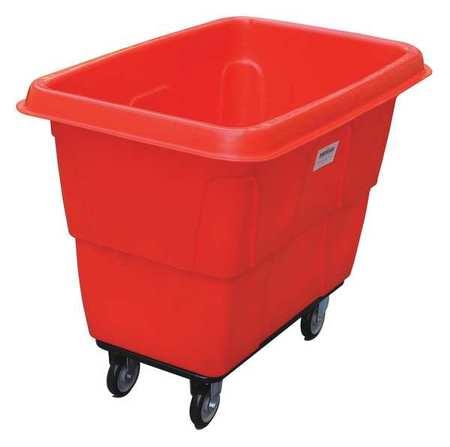 Value Brand Cube Truck 3/8 cu. yd. 500 lb. Cap Red