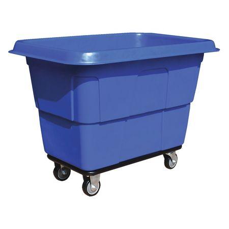 Value Brand Cube Truck 1 cu. yd. 600 lb. Cap Blue Type 36FL19