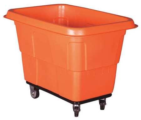 Value Brand Cube Truck 4 cu. yd. 800 lb. Cap Red