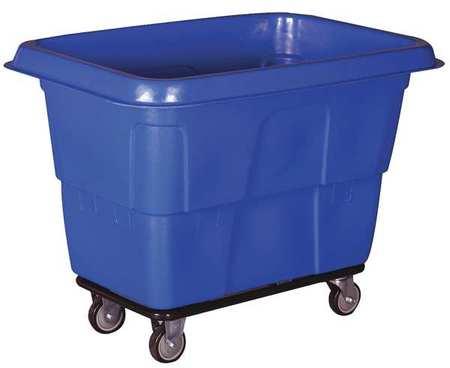Value Brand Cube Truck 6 cu. yd. 800 lb. Cap Blue