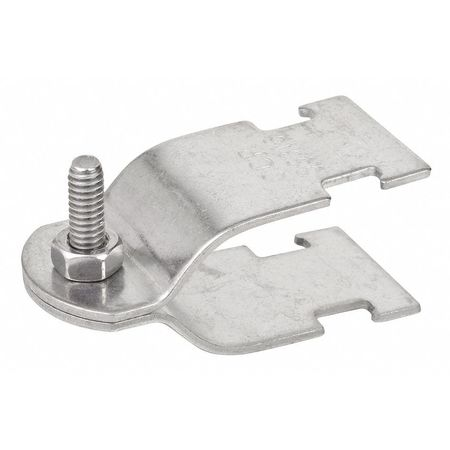 Conduit Clamp 316 SS 3 In by USA Calbrite Electrical Strut Channel Accessories