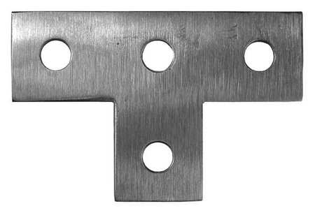 Tee Plate for 1 5/8 in Channels by USA Calbrite Electrical Strut Channel Accessories