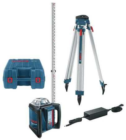 Laser Level Kit,Rotary,1650 ft. Range