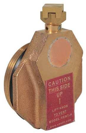 Vestil Drum Safety Vent Brass