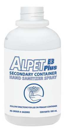 Secondary Container,500ml